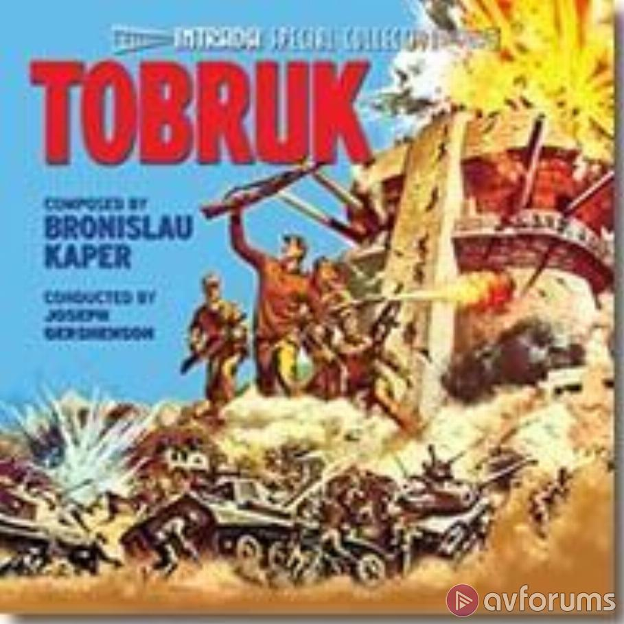 Tobruk - Motion Picture Soundtrack Soundtrack Review