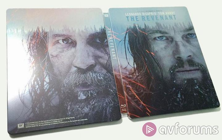The Revenant Steelbook Extras
