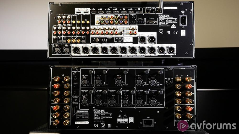 Yamaha Cx A5100 Processor And Mx A5000 11 Channel Amp