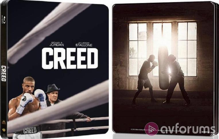 Creed Steelbook Steelbook Extras