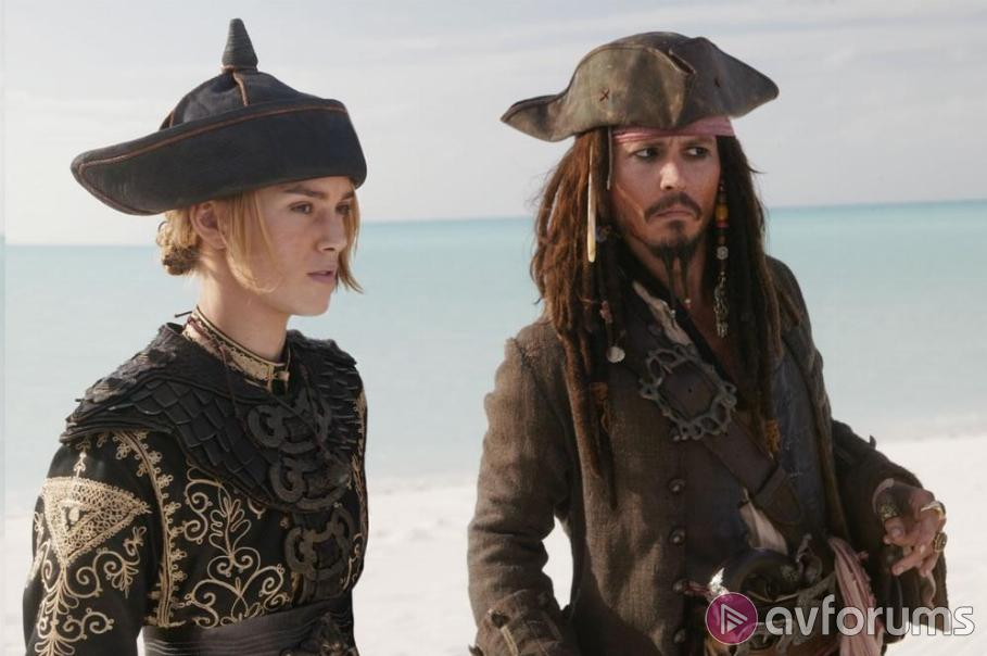 Pirates of the Carribbean : At World's End Blu-ray Review