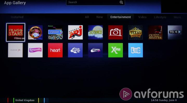 Philips Smart TV System 2014 Applications - Software
