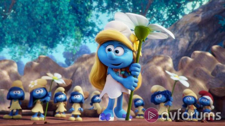 Smurfs: The Lost Village Picture Quality