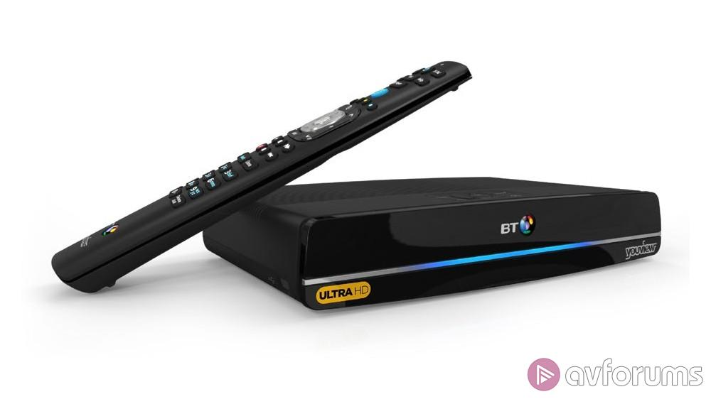 BT Ultra HD YouView Box