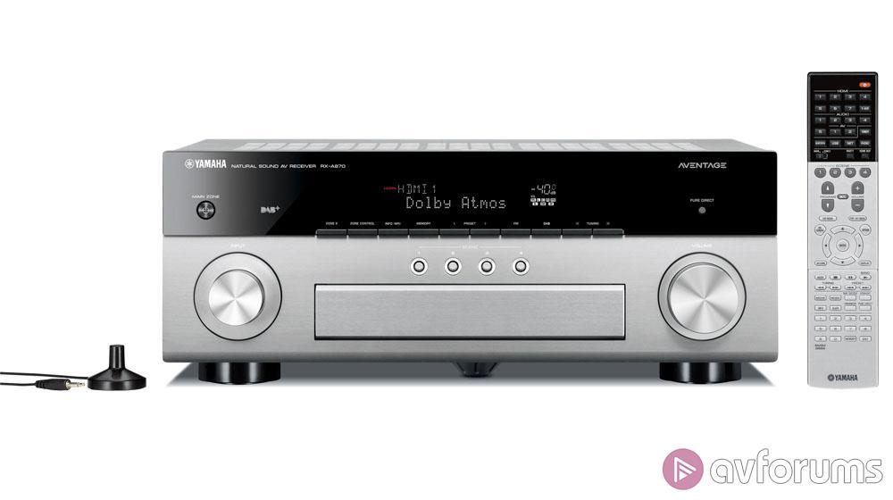 Yamaha RX-A870 7 2-Channel Dolby Atmos DTS:X AV Receiver Review