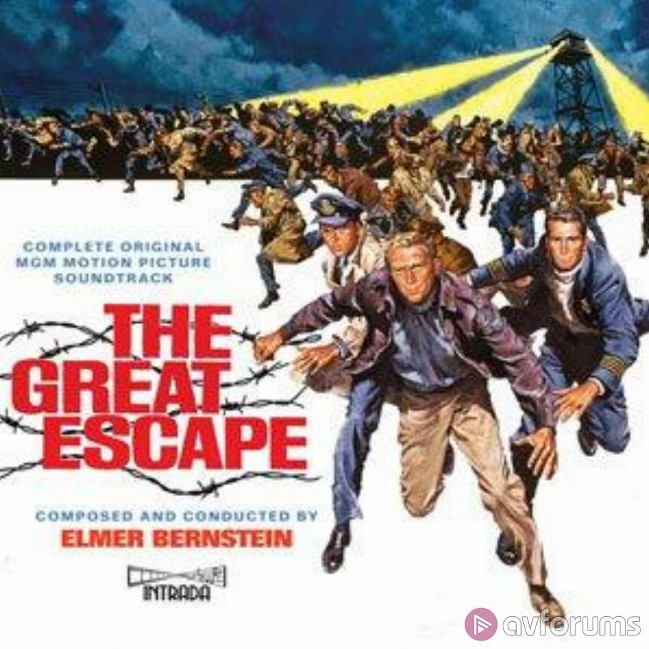 The Great Escape - Complete Original MGM Motion Picture Soundtrack Soundtrack Review