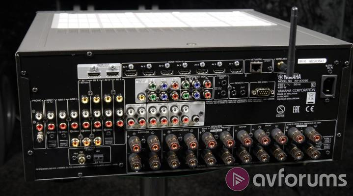 Yamaha RX-A3050 Connections & Control