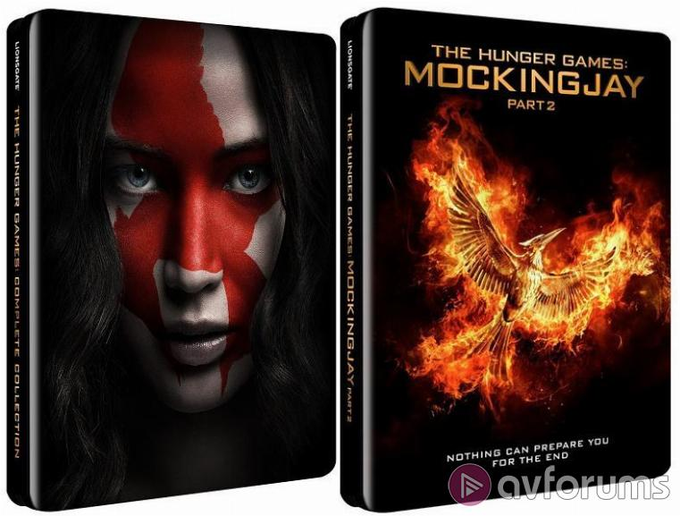 The Hunger Games: Mockingjay - Part 2 Steelbook Steelbook Extras