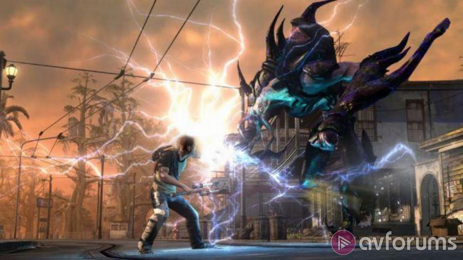 inFamous 2 PS3 Review | AVForums on infamous shard map complete, infamous 1 shard locations, infamous 1 cole, infamous second son map, infamous ps3 unlockables map, infamous blast shard map 1, blast shards ps3 map,