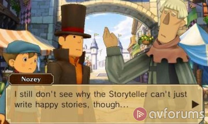 Professor Layton vs. Phoenix Wright: Ace Attorney Hinter-land?