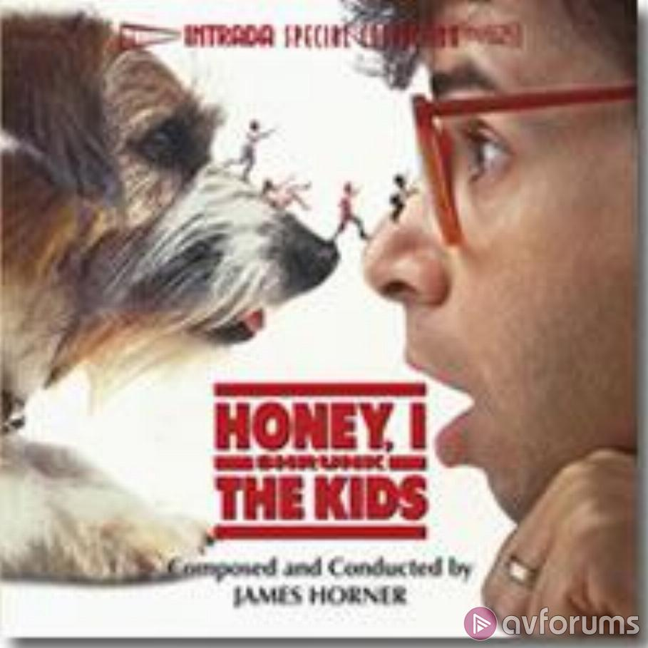 Honey, I Shrunk The Kids - Original Motion Picture Score Soundtrack Review