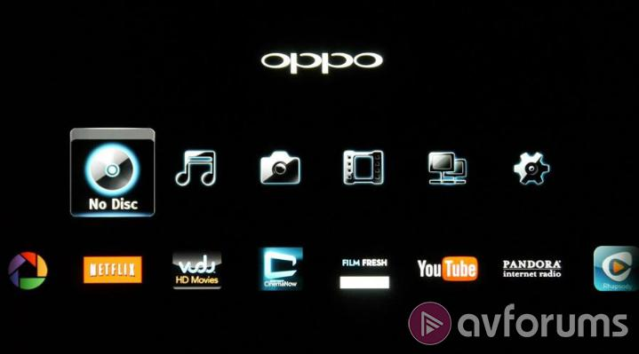 Oppo BDP-105D Features