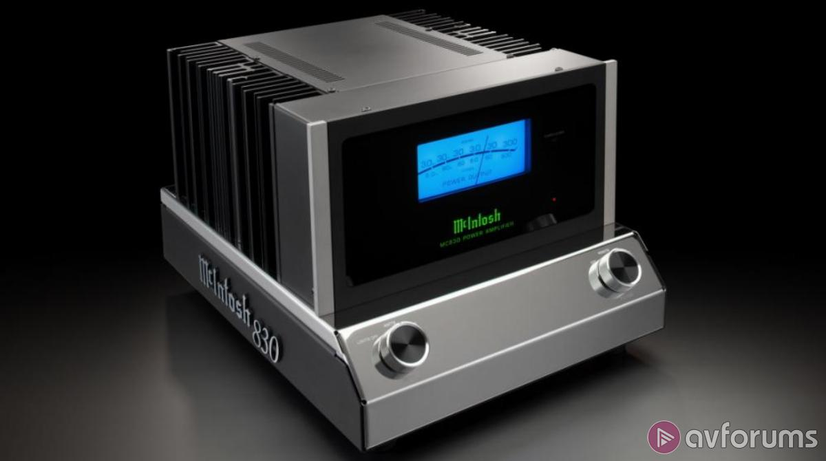 McIntosh announces C8 Tube Preamplifier and MC830 Solid State Amplifier