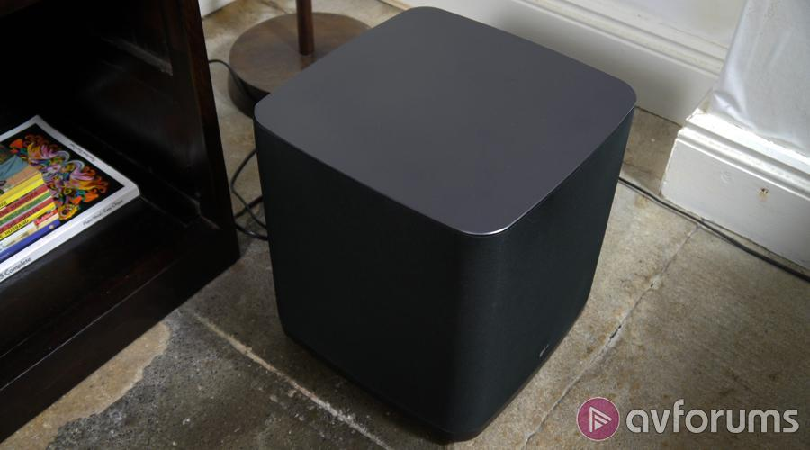 how to connect subwoofer to lg tv