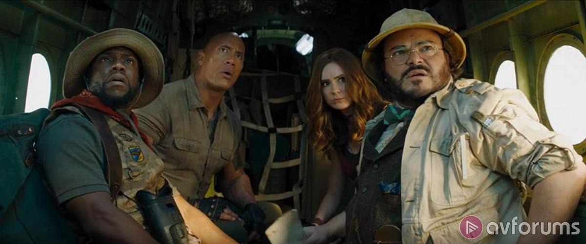 Jumanji: The Next Level 4K Blu-ray