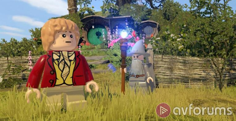 LEGO The Hobbit The game of the film of the book