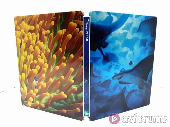 Finding Dory Steelbook Extras