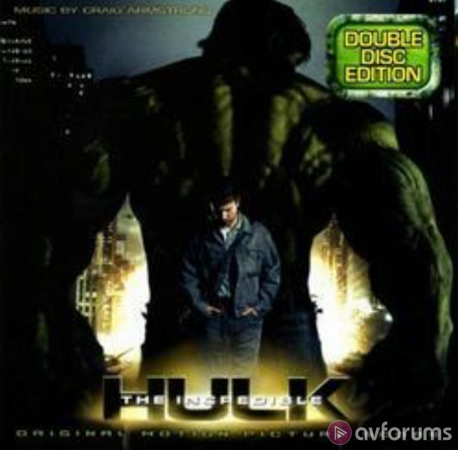 The Incredible Hulk - Original Motion Picture Score Double-Disc Edition Soundtrack Review