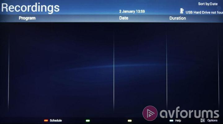 Philips Smart TV System 2014 EPG & PVR Features