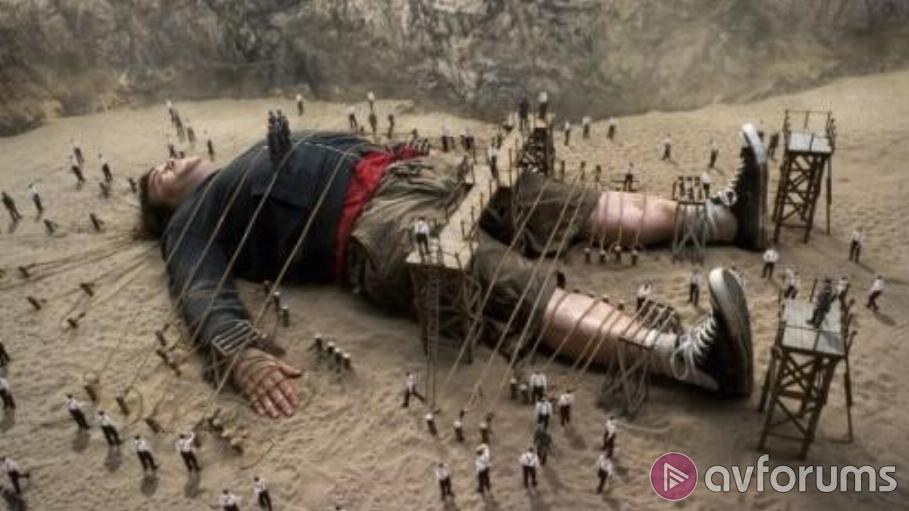 Gulliver's Travels 3D Blu-ray Review