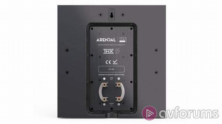 Arendal 1723 S Monitor Center Surround and Sub 1 Performance