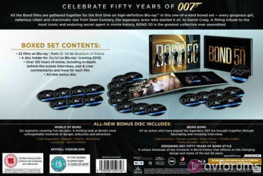 The World Is Not Enough - Bond 50 Box Set Blu-ray Review