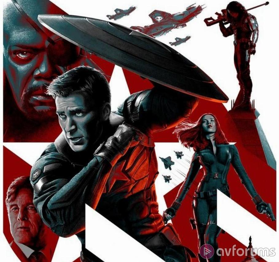 Captain America: The Winter Soldier 3D Blu-ray Review