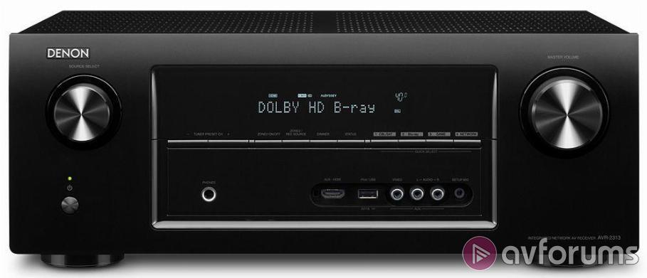 Denon AVR-2313 AV Receiver Review | AVForums