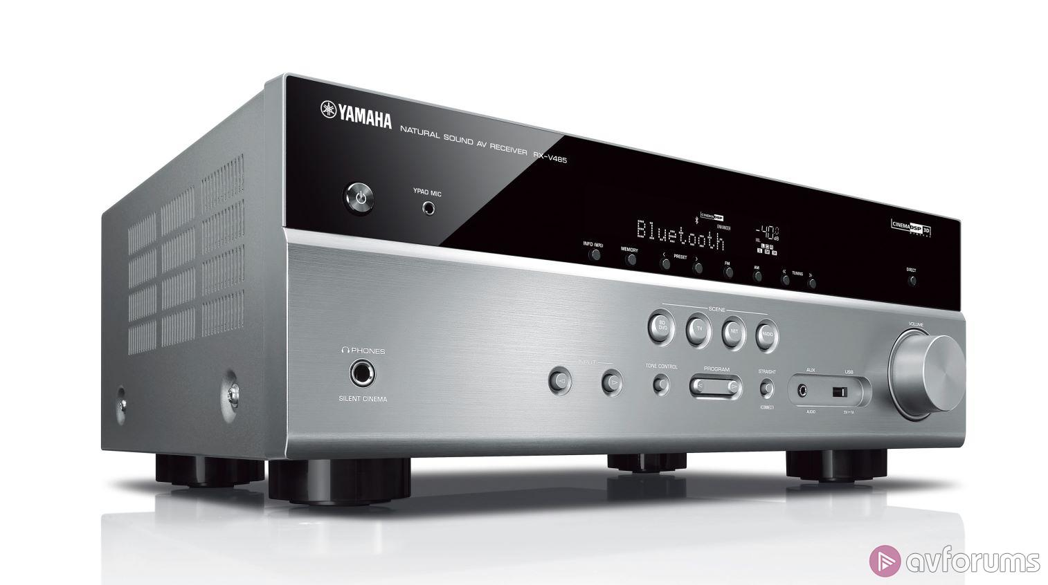 yamaha rx v485 av receiver avforums. Black Bedroom Furniture Sets. Home Design Ideas