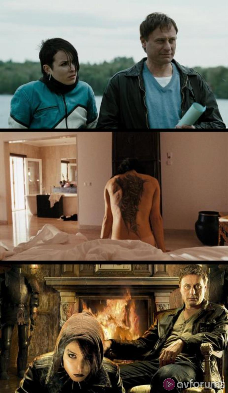 The Dragon Tattoo Trilogy - Extended Editions Blu-ray Review