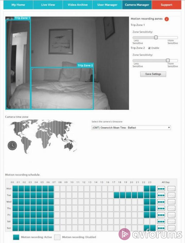 Y-Cam HomeMonitor HDS Setup and Features