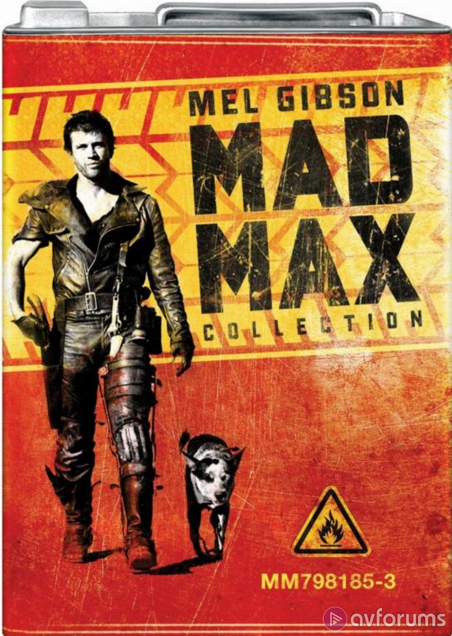 Mad Max Collection - Petrol Can Blu-ray Review