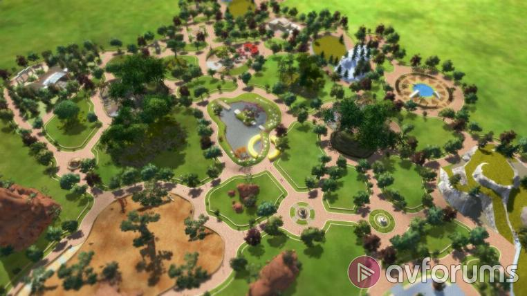 Zoo Tycoon A themed park