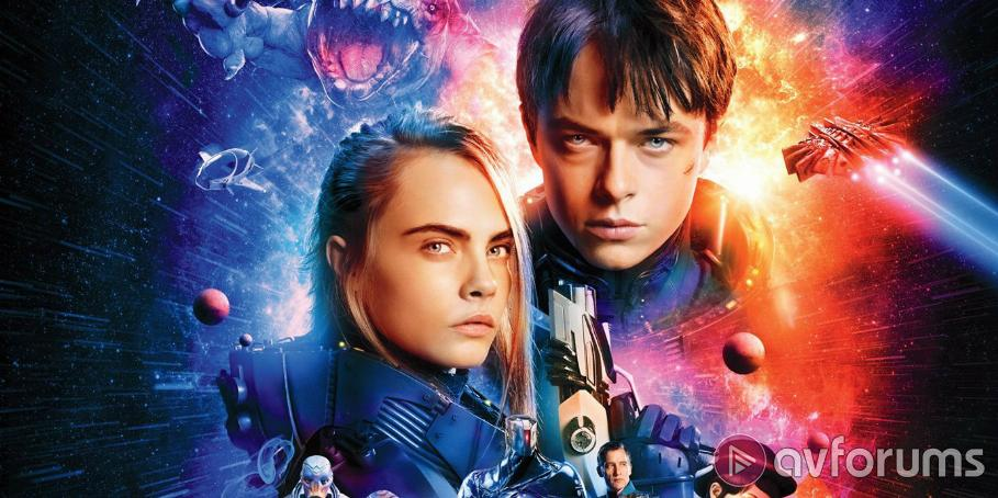 Valerian and the City of a Thousand Planets Ultra HD Blu-ray Review