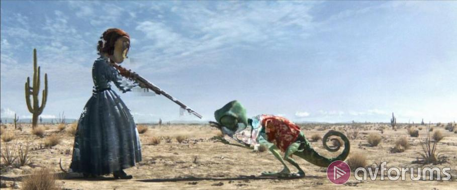 Rango Blu-ray Review
