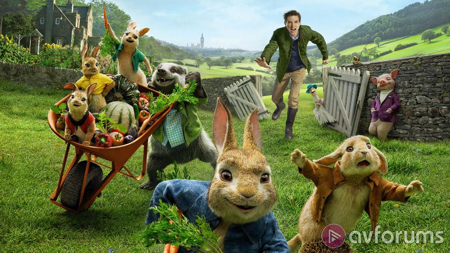 Peter Rabbit 4K Blu-ray Review