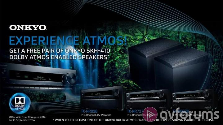 onkyo dolby atmos speakers. of course you\u0027ll need a new dolby atmos-enabled a/v receiver and speaker set-up to do so. purpose-designed atmos systems are on the way but in onkyo speakers t