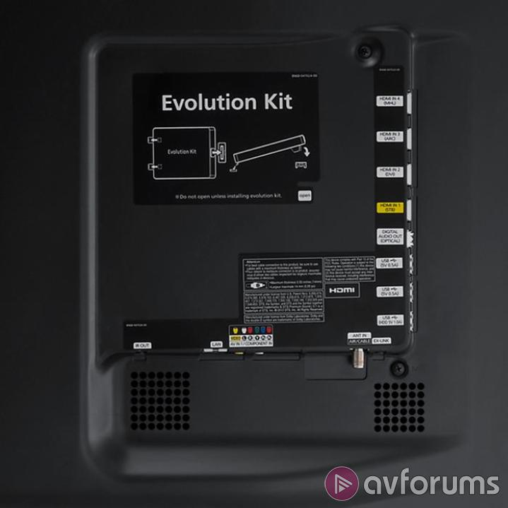 Samsung PS64F8500 Design and Connections