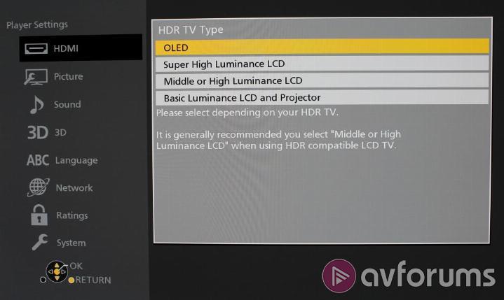 Panasonic DP-UB820 Review | AVForums