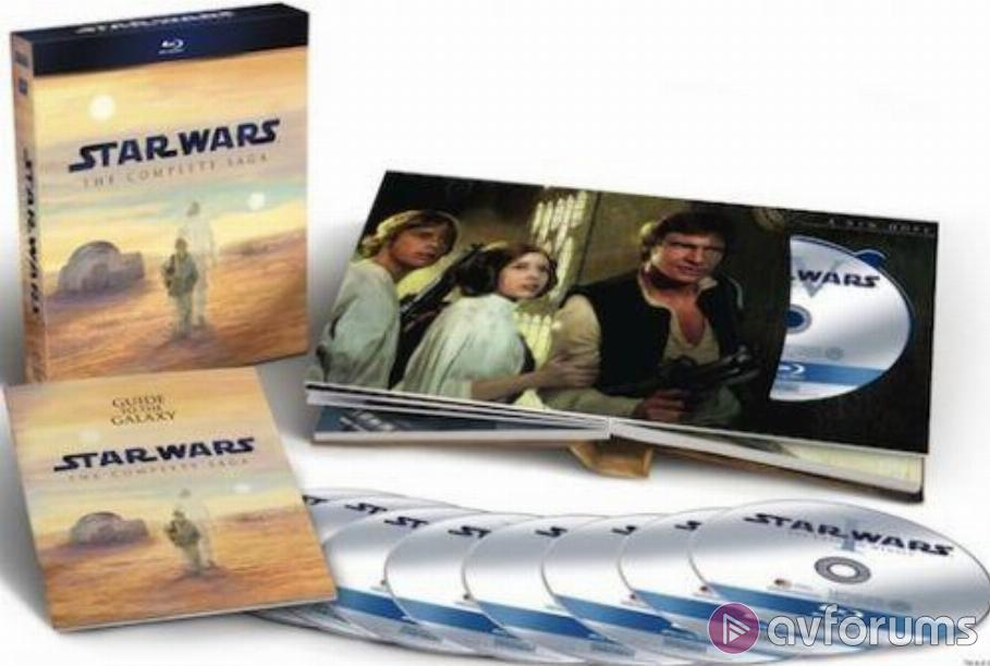 Star Wars: The Complete Saga Blu-ray Review