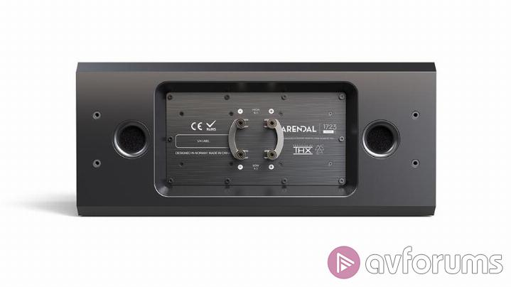 Arendal 1723 S Monitor Center Surround and Sub 1 Specifications
