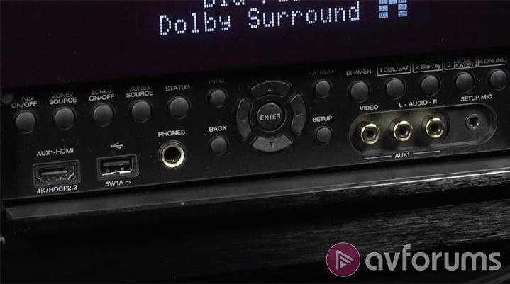 Denon AVR-X6300H Design