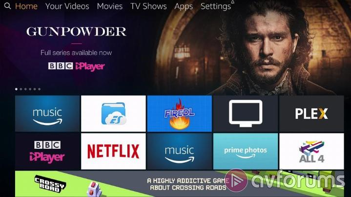 Amazon Fire TV 3rd Gen User Interface & Menus