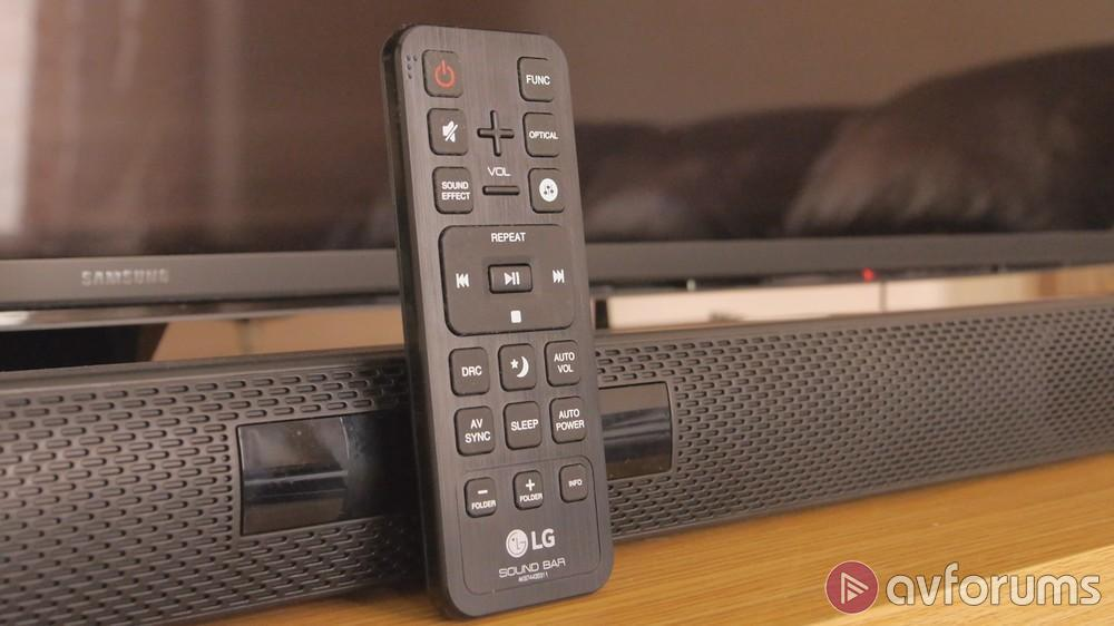 LG LAS455H Soundbar Review | AVForums