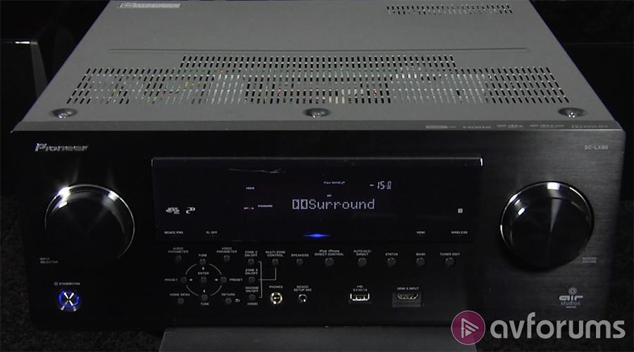 Pioneer SC-LX89 9 2 Channel AV Receiver Review   AVForums