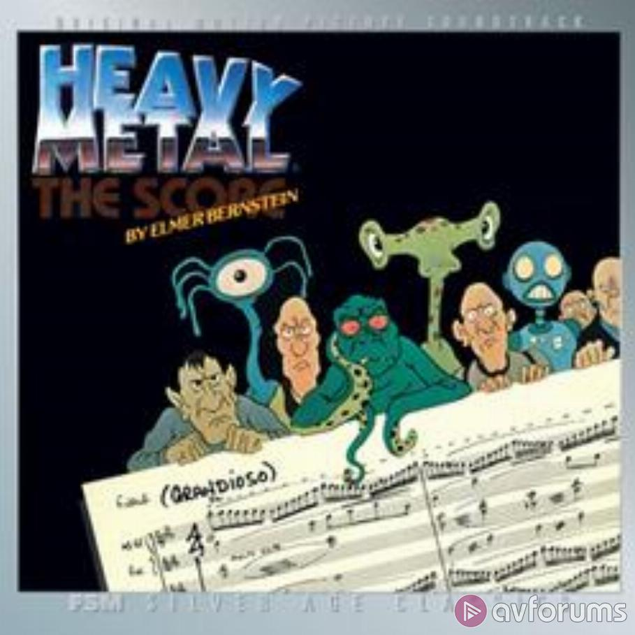 Heavy Metal - The Score Soundtrack Review