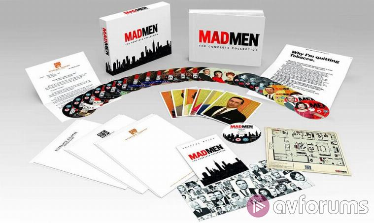 Mad Men Complete Collection Extras