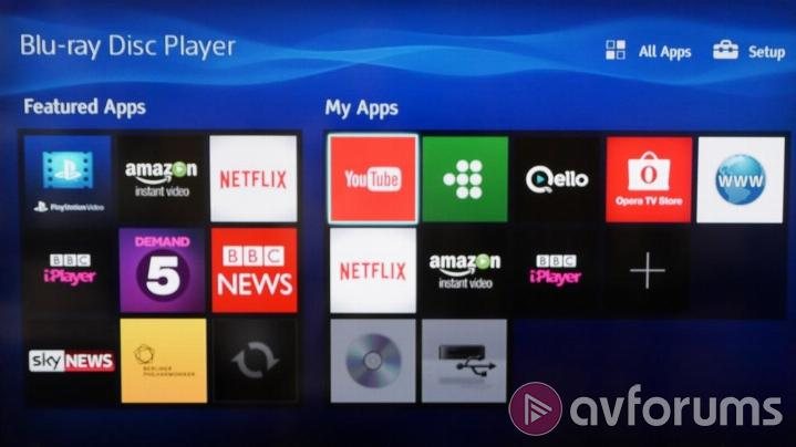 Sony BDP-S4500 Sony Smart TV Features