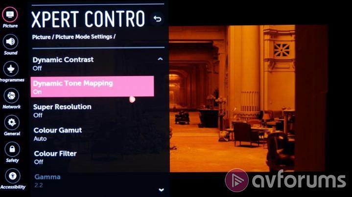 LG 55B8 (OLEDB8SLC) OLED Review | AVForums