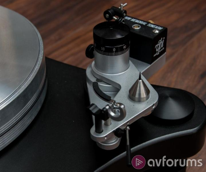 VPI Prime Turntable  Positives